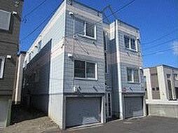 北海道札幌市東区北十九条東9丁目の賃貸アパートの外観