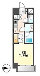 Comfort新栄(コンフォート新栄)[7階]の間取り