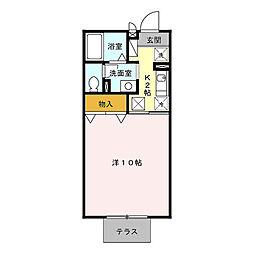 HOM・1[105号室]の間取り