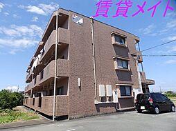 三重県伊勢市小俣町明野の賃貸マンションの外観