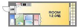 オルフェア難波南11番館[6階]の間取り