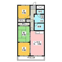 メゾン・エスポワール[2階]の間取り