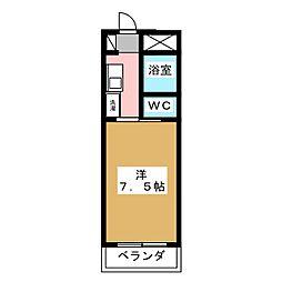 プチ桜[5階]の間取り