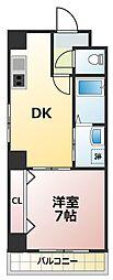 KEIGORIN[2階]の間取り