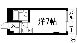 リバティハイム櫻井1[2階]の間取り
