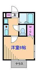 HIYOSHI3261[1階]の間取り