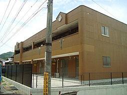 山口県下関市菊川町大字田部の賃貸アパートの外観