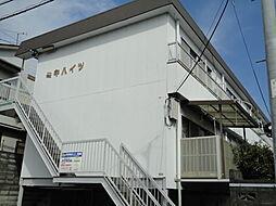 静岡県浜松市中区高町の賃貸アパートの外観
