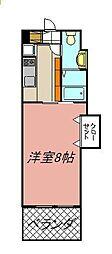 プレステージ・デル・クラシック[304号室]の間取り