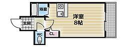 CTビュー永和[3階]の間取り