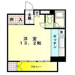 レックスマンション[102号室]の間取り