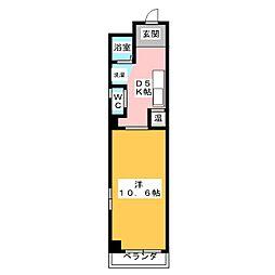 ハウス108泉[2階]の間取り