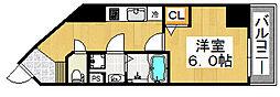 プリメーロ 66[4階]の間取り