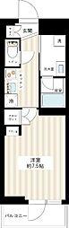 ジュイールパルフェ西新井[4階]の間取り