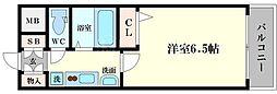 エステムコート大阪ベイエリア[8階]の間取り