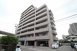 広島県広島市東区牛田新町の賃貸マンションの外観