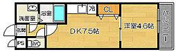 フジパレス堺浜寺石津[305号室]の間取り