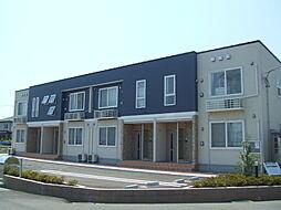 新潟県新潟市北区横井の賃貸アパートの外観