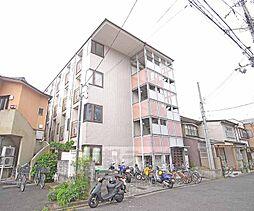京都府京都市北区紫野南花ノ坊町の賃貸アパートの外観