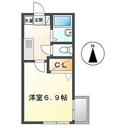 アービングステージ[2階]の間取り