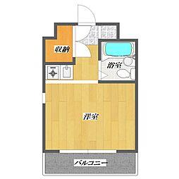 東京都江戸川区中葛西6の賃貸マンションの間取り