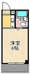 レジナス瀬田[302号室]の間取り