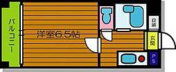 プラウデスト[4階]の間取り