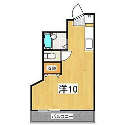コットンハウス95[307号室]の間取り