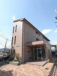 京都府京都市西京区山田弦馳町の賃貸マンションの外観