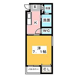 Villa Urbana Sakuradai[4階]の間取り