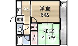 墨染駅 4.7万円