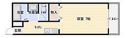 ドムスOgawa[306号室]の間取り