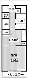 メゾンベルセーヌ[1階]の間取り