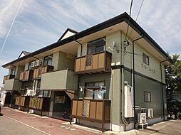 富山県富山市本郷町5区の賃貸アパートの外観