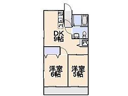 諌早第一ビル[4階]の間取り