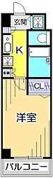 KWプレイス国分寺[2階]の間取り