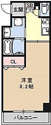 イクスピリオド五条[201号室号室]の間取り