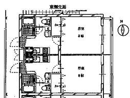 コモド・アビターレ[3階]の間取り
