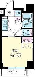 ヴェルト錦糸町II[2階]の間取り