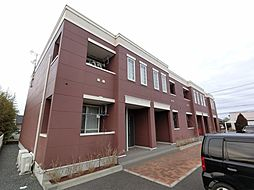 千葉県旭市鎌数の賃貸アパートの外観