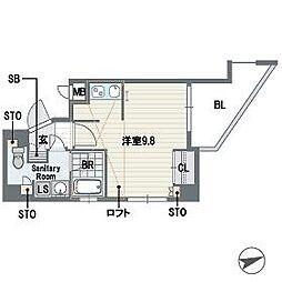 ルミナス桜坂[7階]の間取り