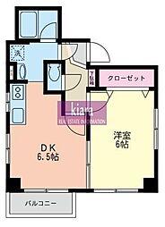 ヤマキチビル[2階]の間取り