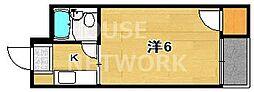 御池ハイツ[208号室号室]の間取り