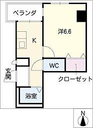 ソフィア[8階]の間取り
