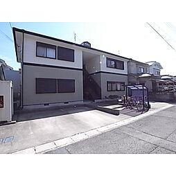 奈良県天理市西長柄町の賃貸アパートの外観