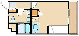 兵庫県姫路市飾磨区英賀保駅前町の賃貸マンションの間取り