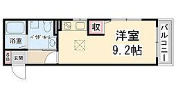 フロントハウス[A101号室]の間取り