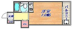 グレイス芦屋[2階]の間取り