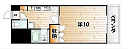 サルヴァトーレ西小倉[4階]の間取り