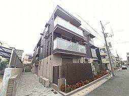 兵庫県神戸市東灘区森南町1丁目の賃貸アパートの外観